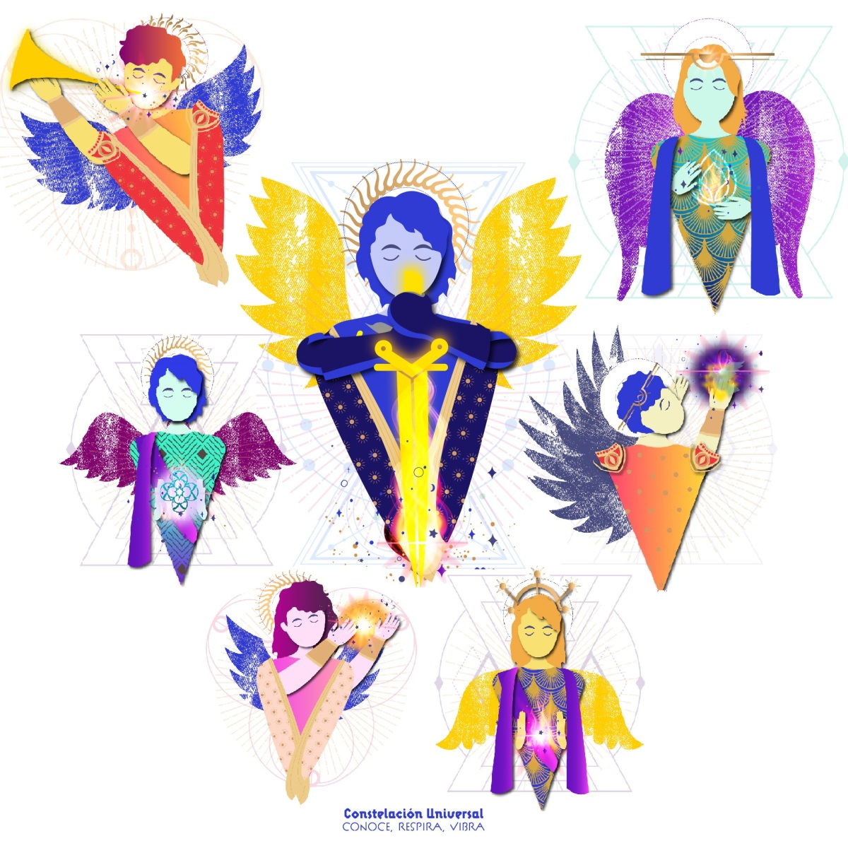 siete arcangeles logos planetarios